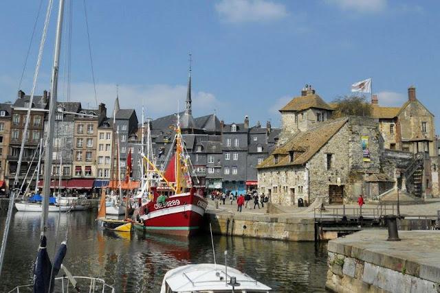 Paris to Normandy Road Trip: Honfleur Harbour