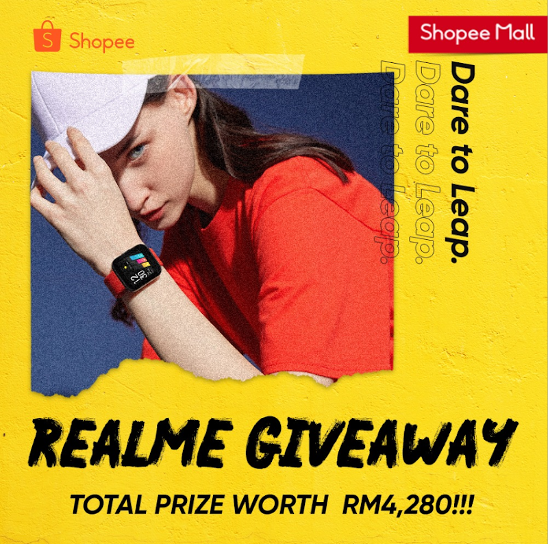 REALME Achieved No.1 In Shopee for Its Wearable Products