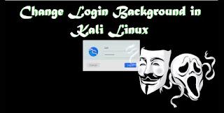 Change login screen of Kali Linux