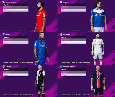 PES 2020 Mega Tattopack by SuperNova