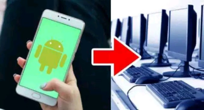 How To Turn Your Android Phone Iike a Computer ?