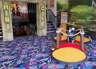 Indoor Mini Golf at The Palace Amusements in Rhyl