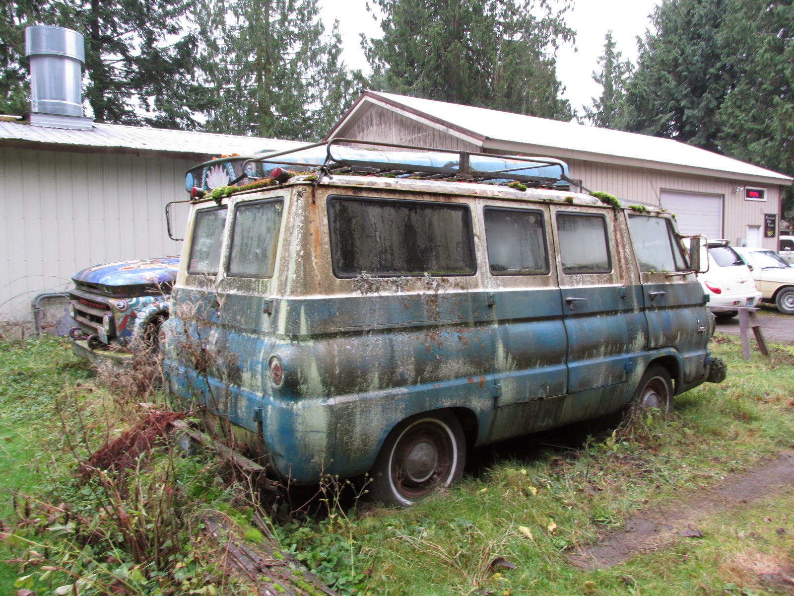 hight resolution of  seattle s clics 1965 dodge a100 van on gmc envoy wiring diagram chevrolet avalanche wiring