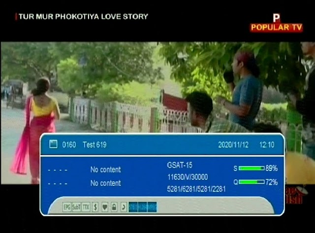 Popular TV added on Channel Number 108 / Test 619
