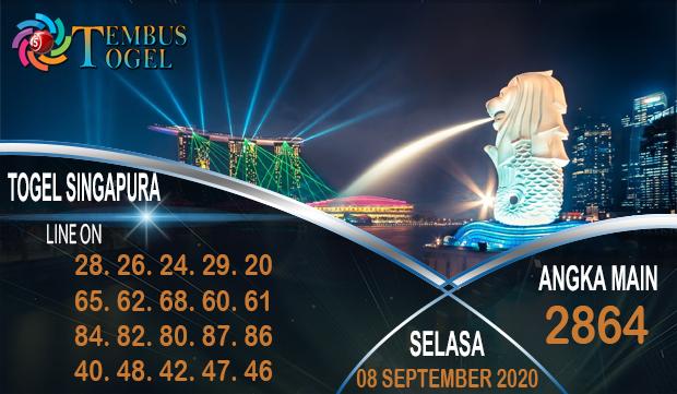 Tembus Togel Singapura Selasa 08 September 2020
