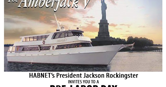 Pre-Labor Day Birthday Bash Yacht Party Flyer!