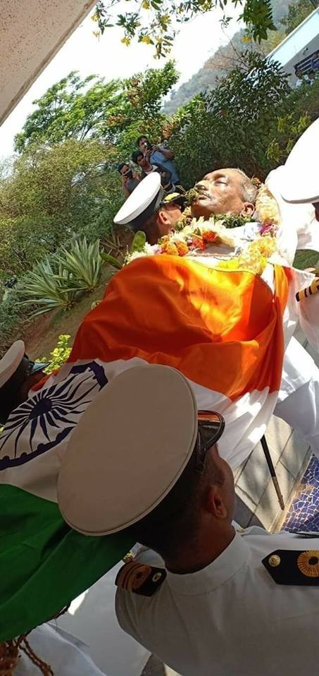 Manohar Parrikar Funeral Photo