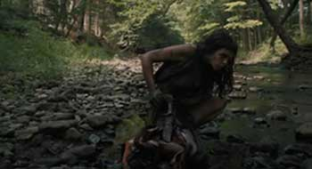 Pollyanna McIntosh en una escena de The Woman.
