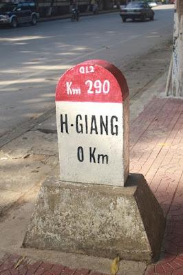 Phượt Hà Giang cột mốc số 0