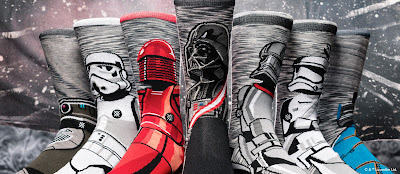 Star Wars: The Last Jedi Designer Sock Collection by Stance