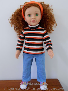 Australian Girl Doll in her new skivvy