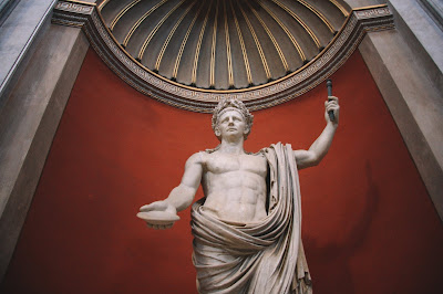 Sculpture of Roman Emperor Tiberius Claudius Caesar Augustus Germanicus in Vatican City - Source: Unsplash - https://unsplash.com/photos/veHGlVkU4qQ