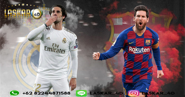 Prediksi Real Madrid VS Barcelona 02 Mar 2020
