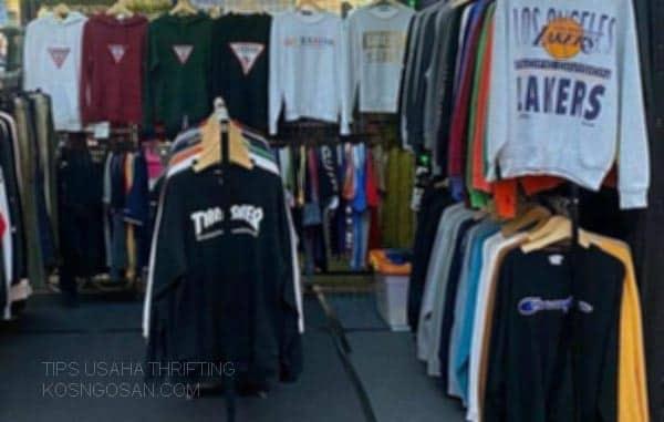 bisnis thrifting pemula