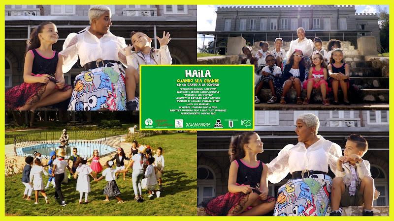 Haila María Mompié - ¨Cuando sea grande¨  Videoclip - Director: Andros Barroso. Portal Del Vídeo Clip Cubano. Música infantil cubana. Cuba.