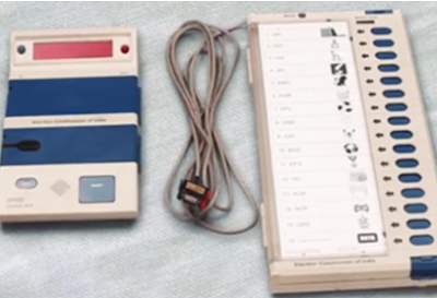 Electronic Voting Machine(EVM)