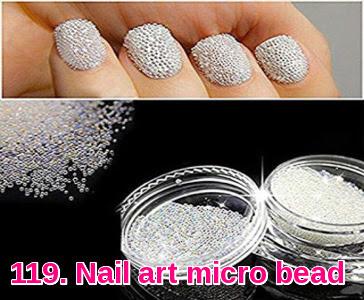 Nail art micro bead