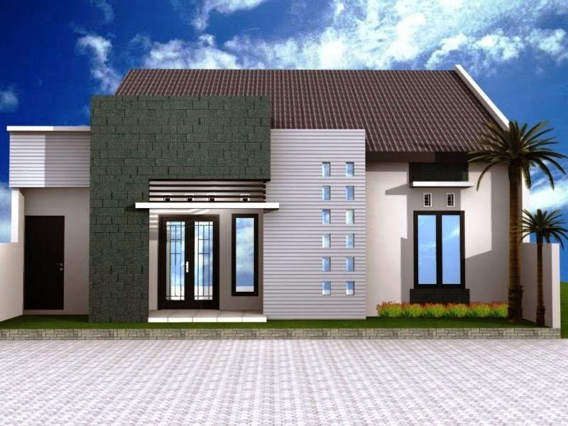 Desain Rumah Minimalis 1 Lantai Sederhana Tapi Mewah