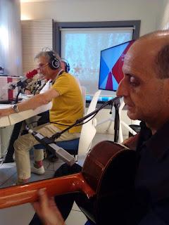 Actuación en Onda Madrid, con Javier Romanos