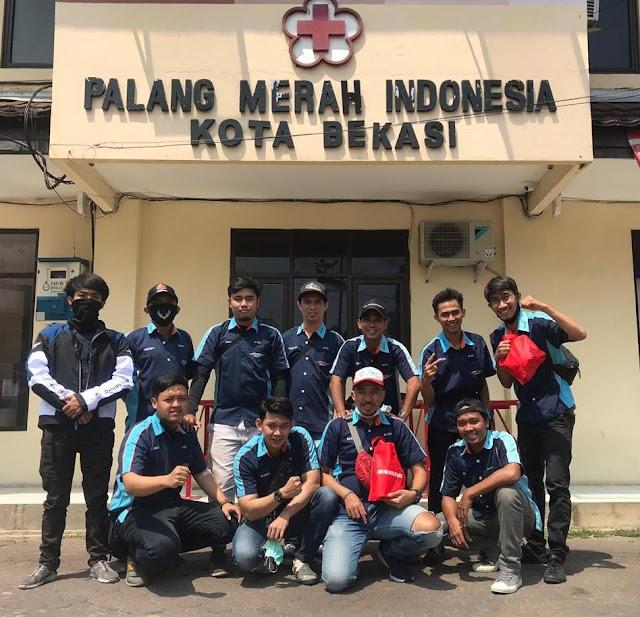 Dalam Rangka Memperingati HUT RI ke 75, FOC (Fu 150 Owners Club) Menggelar Baksos Donor Darah di Gedung PMI Kota Bekasi