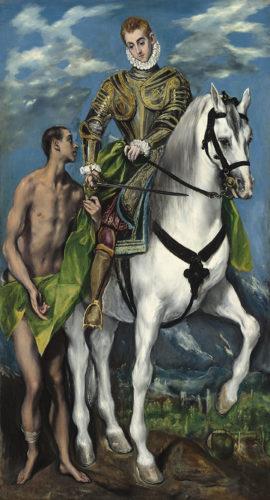 Saint Martin et le pauvre - Gréco
