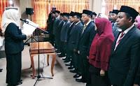 36 Pejabat Struktural Dilantik, M Chandra Kusuma Kembali Diplot Jadi Kabag Humaspro