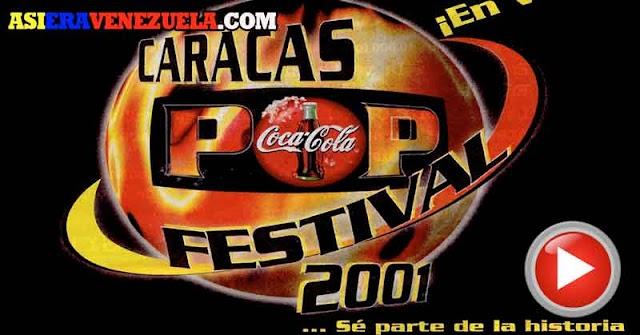 El Caracas Pop Festival con las estrellas de los 90 y del 2000