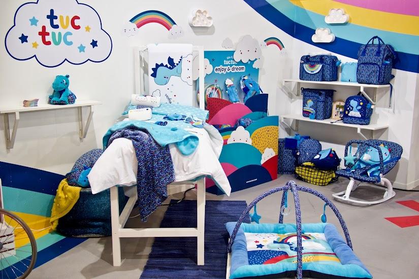Textiles de la nueva colección Enjoy & Dream de tuc tuc