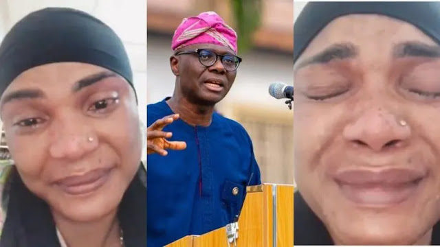 I am running into serious debt- Iyabo Ojo cries bitterly as she begs Sanwo-Olu to address COVID-19 restriction in Lagos (video)