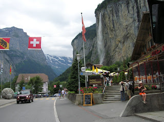cascada de Lauterbrunnem, Suiza, Lauterbrunnem, Switzerland, Lauterbrunnem, Suisse, vuelta al mundo, round the world, La vuelta al mundo de Asun y Ricardo