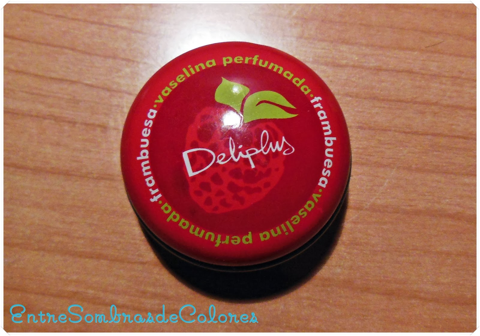 vaselina frambuesa Deliplus (Mercadona)
