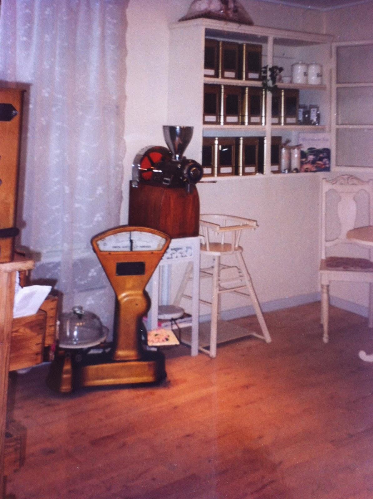 Frk Hall: Min gamle café