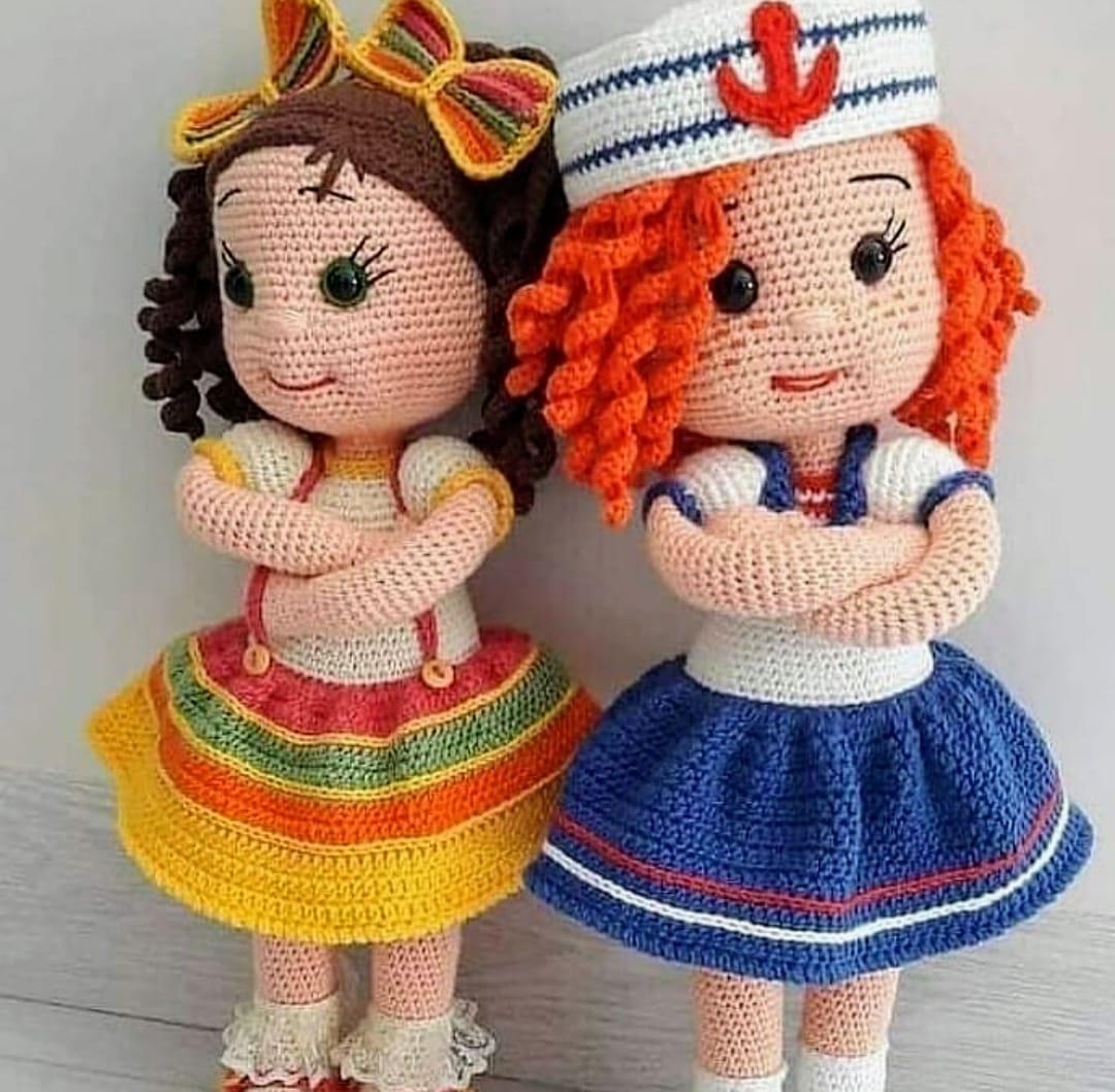 Amigurumi de Crochê Boneca Mary 27 cm | Arquitetas Express | 1058x1080
