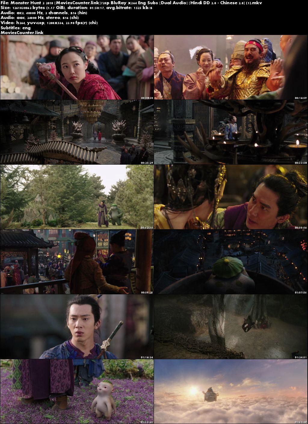 Screen Shot Monster Hunt 2 2018 Dual Audio HD 720p