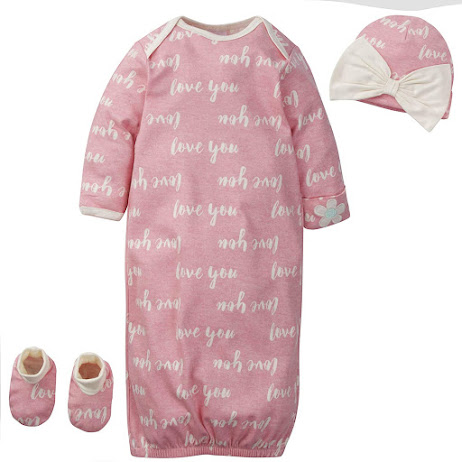 Pink Preemie Baby Girl Clothes