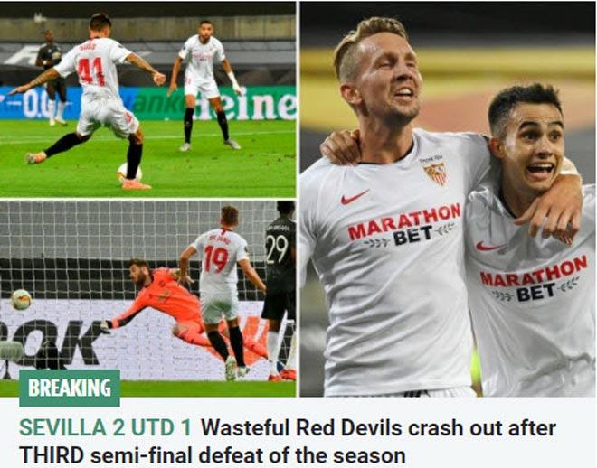 MU thua đau tại Europa League: Báo Anh thất vọng, chỉ ra 2 điểm yếu 2