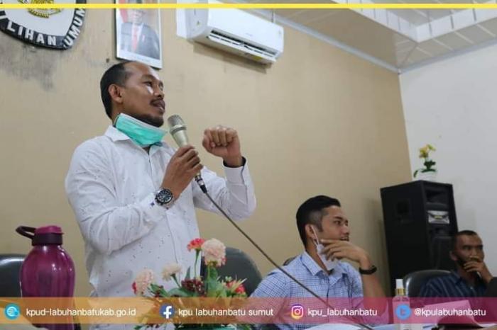 KPU Kabupaten Labuhanbatu Laksanakan Debat Publik Paslon Bupati dan Wakil Bupati