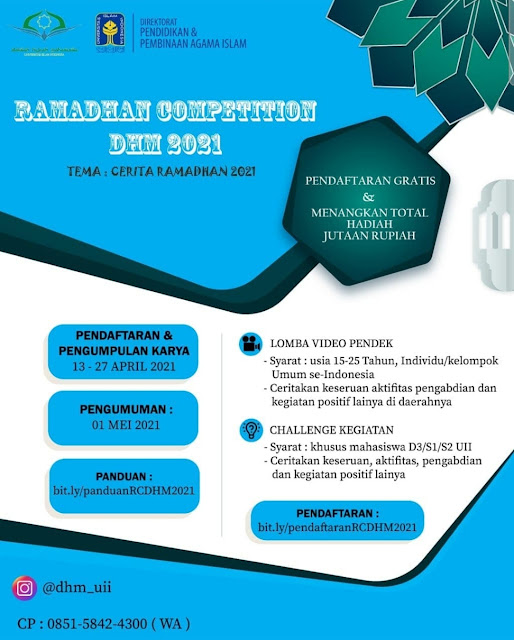 Ramadhan Competition DHM 2021