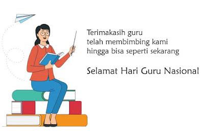 wallpaper hari guru nasional
