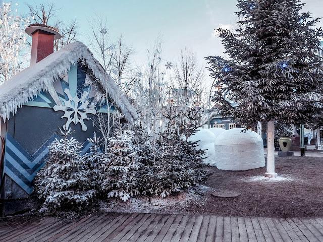 Tivoli, Copenhagen in February - winter
