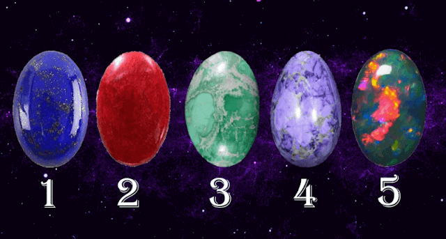 Choose a Crystal To Receive a Oracle Reading