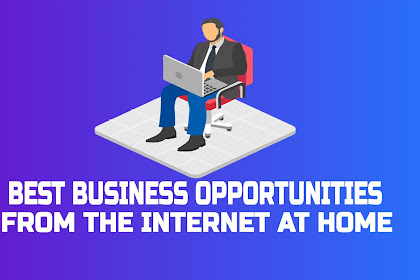 Best Business Opportunities from the Internet at Home