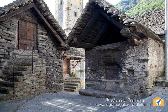 Sonogno in valle Verzasca, il forno
