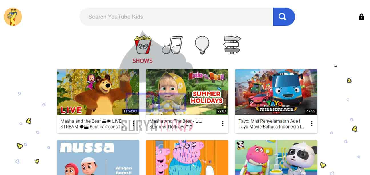 channel youtube untuk anak