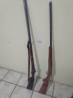 Mais duas armas de fogo foram tiradas de circulação no município de Cubati