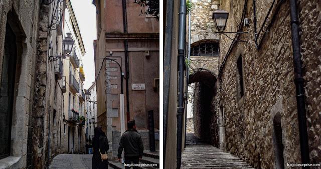 Bairro judeu medieval de El Call, Girona, Catalunha