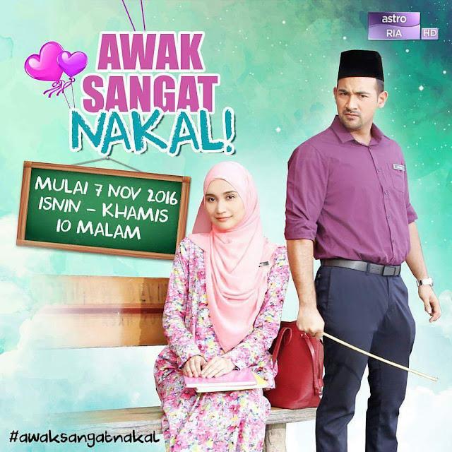 Drama Awak Sangat Nakal Episod 9 (Tonton Full Episod 1 - Episod 16)
