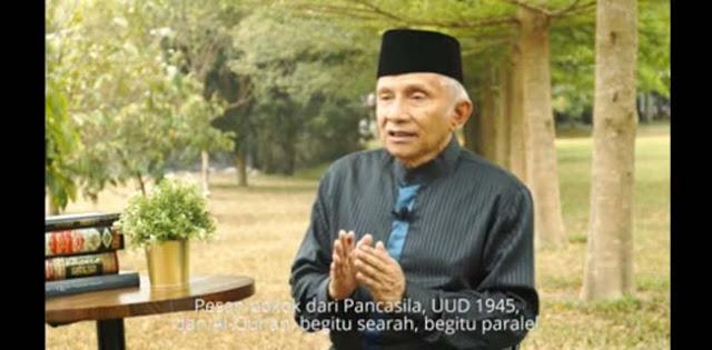 Partai Baru Masih Anonim, Amien Rais: Asasnya Islam Rahmatan Lil Alamin, Semboyan Melawan Kezaliman!