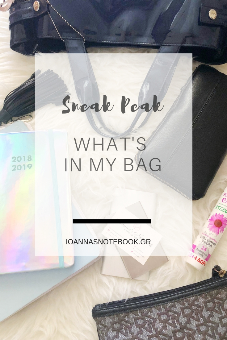 What's in my bag? Sharing everything that's in by bag during a normal weekday | Ioanna's Notebook