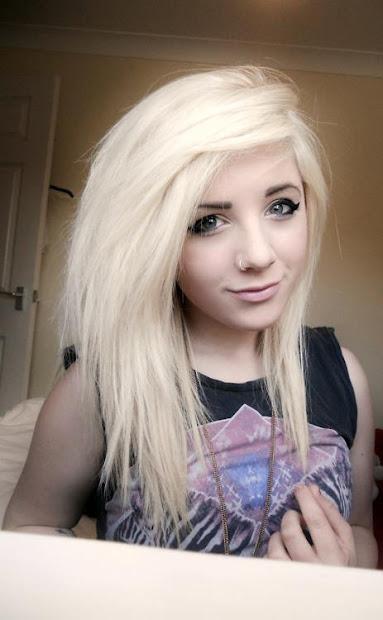 long emo hairstyles teenage